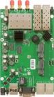RB953GS-5HnT-RP mit 720MHz CPU, 128MB RAM, 3xGbit, 2x miniPCIe, RouterOS L5