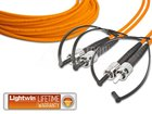 High Quality Duplex LWL Patchkabel, MM OM2, ST - ST