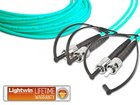 High Quality Duplex LWL Patchkabel, MM OM3, ST - ST