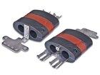 Silikon Kalteinführung für 2 Kabel (12-20mm), oval