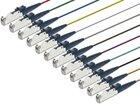 Faserpigtail, Multimode 50/125µm, OM3, E2000, 12er Set