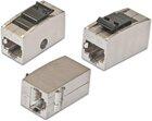 KAT.6A Keystone Adapter - Buchse/Buchse - 1:1 belegt, STP