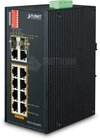 Industrial 8-Port 10/100Mb + 2-Port Gbit 802.3af/at + 2x SFP Switch, IP30