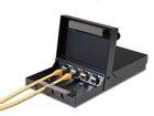 Aufputzbox für Montage von 4x Keystone Jacks, Metall