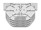Spleissmodul für LFC Muffen mit 4 Compact Tray Kassetten (CT), max. 96 Fasern