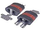 Mechanische Schrumpfeinführung für 4 Kabel (5-10mm), oval