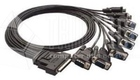 Cable/CBL-M68M9x8-100(SCSI VHDCI 68 male to 8-port