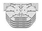 Spleissmodul für LFC Muffen mit 4 Compact Tray Kassetten (CT), max. 48 Fasern
