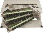 Spleissbox für Zentrale / ODF, für 144x SC/APC, 3HE, ohne Kupplungen/Pigtails