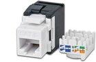 KAT6 Gigabit Ethernet Keystone Modul, ungeschirmt
