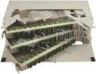Spleissbox für Zentrale / ODF, 144x SC/APC, 3HE, spleiss-fertig