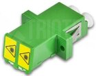 High Quality LWL Kupplung, LC, duplex, Singlemode, APC