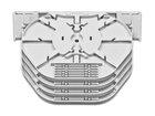 Spleissmodul für LFC Muffen mit 6 Compact Tray Kassetten (CT), max. 72 Fasern