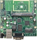 RouterBOARD 411 with 300MHz Atheros CPU, 32MB RAM,