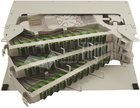 High Quality 19 Zoll LWL Spleissboxen für Zentrale / ODF