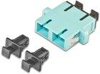 High Quality LWL Kupplung, SC, duplex, Multimode OM3