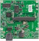 RB411L mit 300MHz Atheros CPU, 32MB RAM, 1xLAN, 1x miniPCI, RouterOS L3