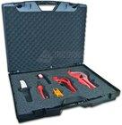 Werkzeugkoffer für Arbeiten bei Rohrsystemen, ohne Ablagefach