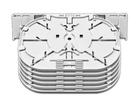 Spleissmodul für LFC Muffen mit 6 Single Circuit Kassetten (SC), max. 24 Fasern,