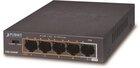 4-Port 10/100Mbps 802.3af/at POE + 1-Port 10/100MBPS (60W)