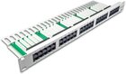 50-Port ISDN Panel, 1HE, lichtgrau