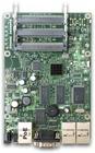 RB433 mit 300MHz Atheros CPU, 64MB RAM, 3xLAN, 3x miniPCI, RouterOS L4