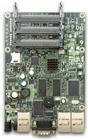 RB433AH mit 680MHz Atheros CPU, 128MB RAM, 3xLAN, 3x miniPCI, RouterOS L5