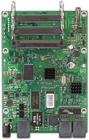 RB433GL mit 680MHz Atheros CPU, 128MB RAM, 3xGbit, 3x miniPCI, USB, RouterOS L5