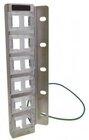 High Quality 12-Port Keystone Modul-Leerpanel, vertikale Montage an 19