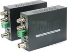 Video over Fiber Media Converter Kit, up to 20km, ST, MM, Set