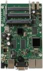 RB435G mit 680MHz Atheros CPU, 256MB RAM, 3xGbit, 5x miniPCI, USB, RouterOS L5