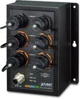 Industrial L2+ 4Port Gbit 802.3at PoE + 2Port 1GBit managed Switch, waterproof