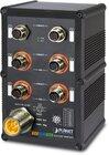 IP67 Industrial L2+ 4Port Gbit M12 802.3at PoE + 2Port 1GBit M12 managed Switch
