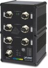 IP67 Industrial L2+ 6Port Gbit A-coded M12 managed Switch, ERPS Ring