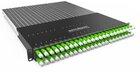 PATCHBOX®Plus+ mit 24 PATCHBOX® Kassetten/Patchkabel, U/FTP, 1,7m, grün