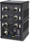 IP67 Industrial L2+ 6Port Gbit X-coded M12 managed Switch, ERPS Ring
