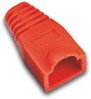 Tülle für RJ45 Stecker standard, Farbe: rot