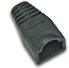 Tülle für RJ45 Stecker standard, Farbe: schwarz