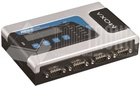 4 ports RS-232/422/485 secure device server, 12-48V,