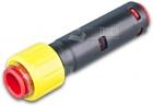 Doppelsteckmuffe mit Gas-Stop-Einzelzugabdichtung, Rohrdimension: 12mm, Kabeldur