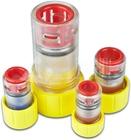 Endkappe mit Kabeldurchführung, Gas-Stop-Einzelzugabdichtung, 12mm, 7-10mm