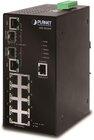 IP30  SNMP 8-Port/TP + 2-Port Gigabit Combo Industrial