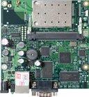RouterBOARD 411 with 300MHz Atheros CPU, 64MB RAM, 1x LAN, 1x miniPCI, WLAN