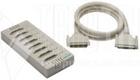 8 Port Connection Box, DB25M, 150CM Cable