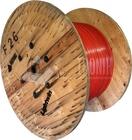 Runder Rohrverbund in Hardcover mit 3x 14/10-er Einzelrohren, Pink, Länge auf Tr