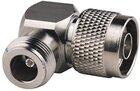 Adapter N-Stecker an N-Buchse 90° gewinkelt