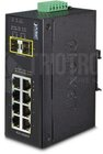 IP30 Industrial 8-Port 10/100/1000T + 2-Port 100/1000X SFP