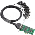 8 port PCIe Board,w/o Cable, RS-232, Low Profile