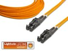 High Quality Duplex LWL Patchkabel, MM OM1, E2000 - E2000, 10.0 Meter