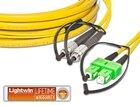 High Quality Flat-Duplex LWL Patchkabel, SM, FC - SC/APC